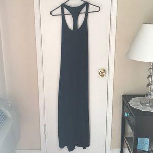 GAP Dresses - Black maxi jersey dress.